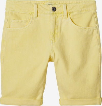 NAME IT Shorts in gelb: Frontalansicht