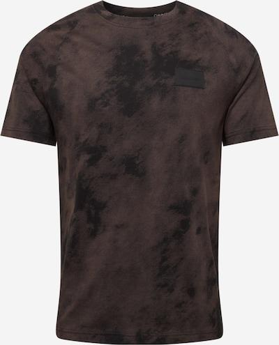 Calvin Klein Tričko - hnedá / čierna, Produkt