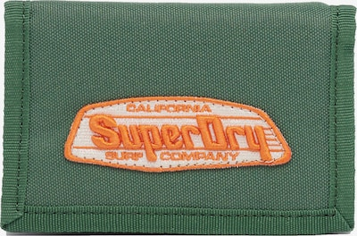 Superdry Portemonnee 'Cali' in de kleur Groen / Sinaasappel / Wit, Productweergave