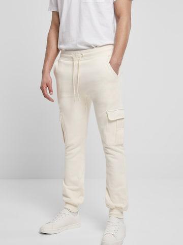 Urban Classics Cargo Pants in Beige