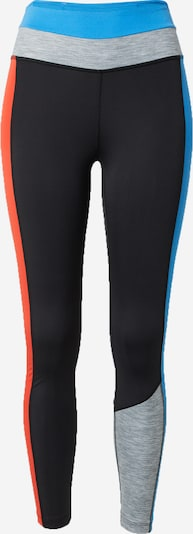 NIKE Sports trousers in Blue / Grey mottled / Red / Black, Item view