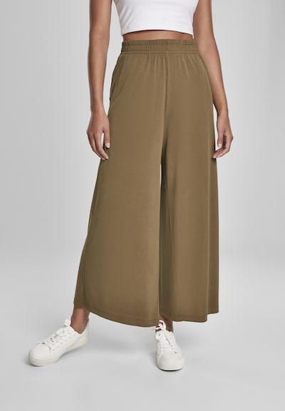 Urban Classics Pantalon en kaki, Vue avec modèle