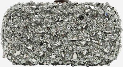 mascara Pochette 'RAYBEADS' en argent / blanc perle, Vue avec produit