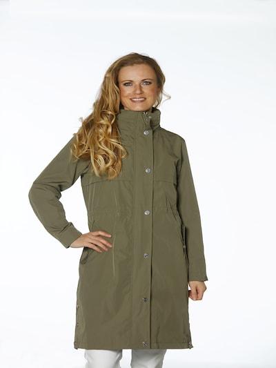 Danwear Mantel in khaki, Modelansicht