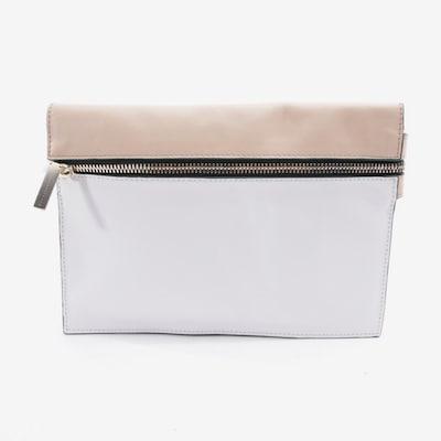 Victoria Beckham Clutch in S in beige / weiß, Produktansicht