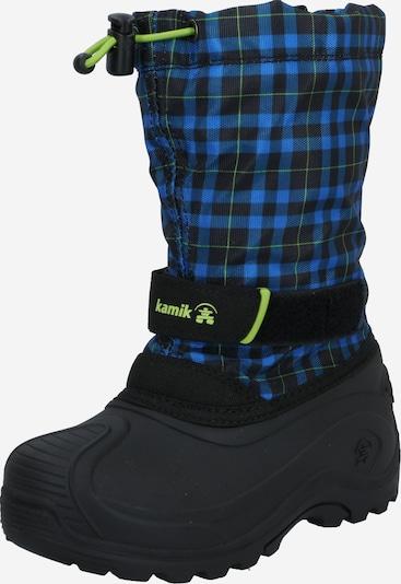 """Sniego batai 'Finley' iš Kamik , spalva - tamsiai mėlyna / sodri mėlyna (""""karališka"""") / juoda, Prekių apžvalga"""