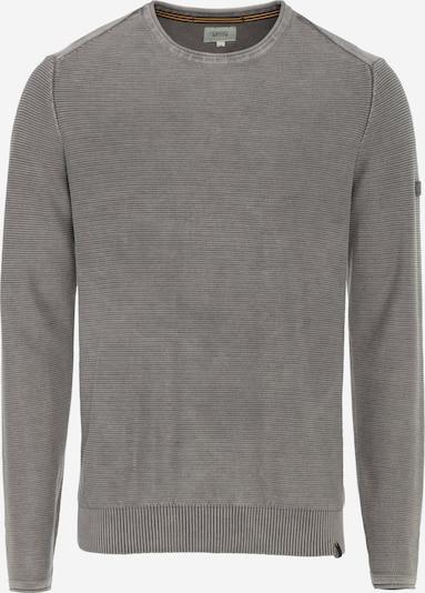 CAMEL ACTIVE Pullover mit Rundhalskragen in grau, Produktansicht