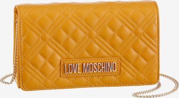 Love Moschino Crossbody Bag in Yellow