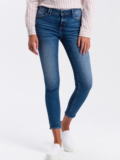 Cross Jeans Jeans 'Giselle' in blue denim, Modelansicht