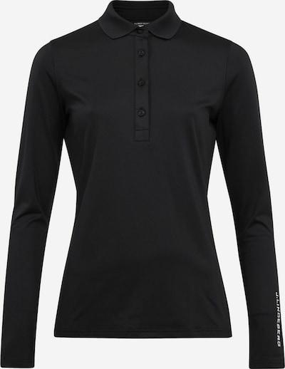 J.Lindeberg Performance Shirt 'Tour Tech' in Black / White, Item view