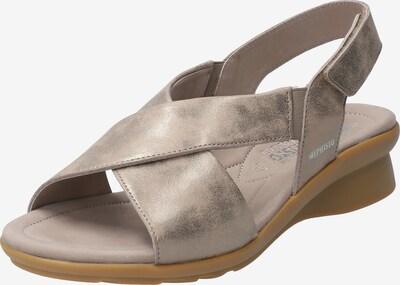MEPHISTO Sandalette 'Phara' in gold / taupe, Produktansicht