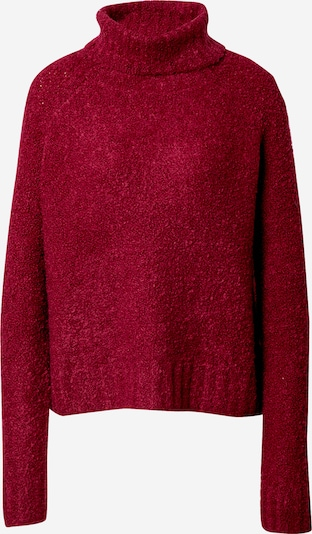 ONLY Pullover 'Olivia' in bordeaux, Produktansicht
