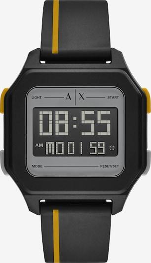 ARMANI EXCHANGE Uhr in gelb / schwarz, Produktansicht