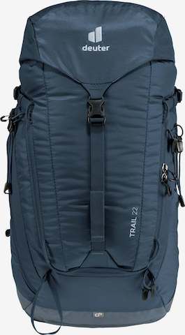 DEUTER Sports Backpack 'Trail 22' in Blue