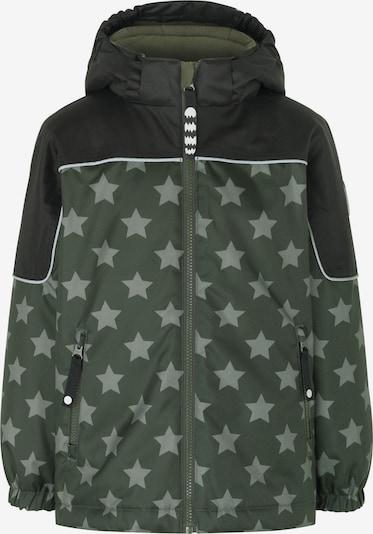 Racoon Outdoor Winter Jacket 'Baptiste' in Mint / Grass green, Item view