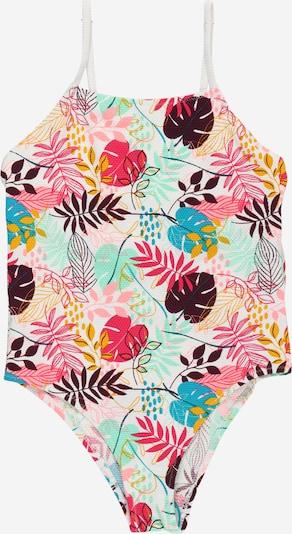 OVS Бански костюм в пъстро / розово / бяло: Изглед отпред