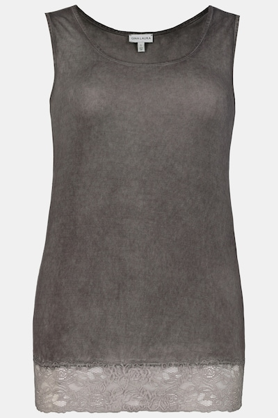 Gina Laura Top in taupe, Produktansicht