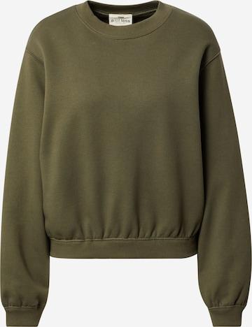 A LOT LESS Sweatshirt 'Haven' - (GOTS) in Grün