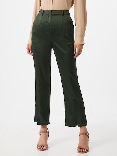 Pantaloni GLAMOROUS pe verde închis, Vizualizare model