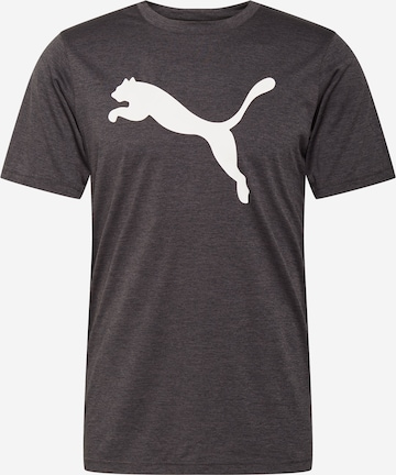 PUMA Performance Shirt 'Heather Cat' in Grey
