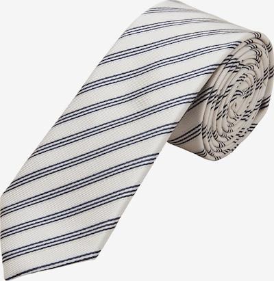 s.Oliver BLACK LABEL Krawatte in beige / schwarz, Produktansicht