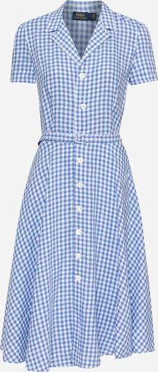 POLO RALPH LAUREN Kleid in blau / weiß, Produktansicht