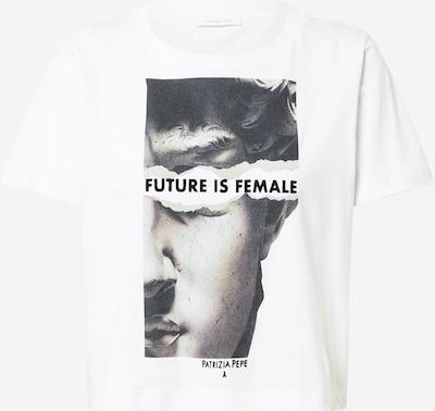 PATRIZIA PEPE Shirt in beige / grau / schwarz / weiß, Produktansicht