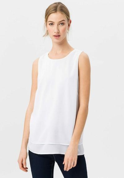 Uta Raasch Bluse in weiß, Modelansicht