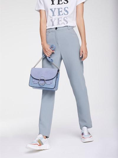 heine Hose 'Style' in taubenblau, Modelansicht