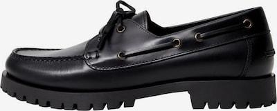 fekete MANGO MAN Fűzős cipő 'Track', Termék nézet
