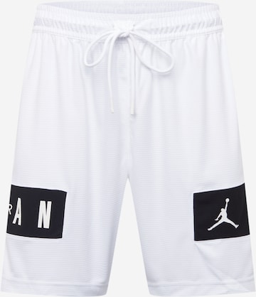 Pantaloni sportivi di Jordan in bianco