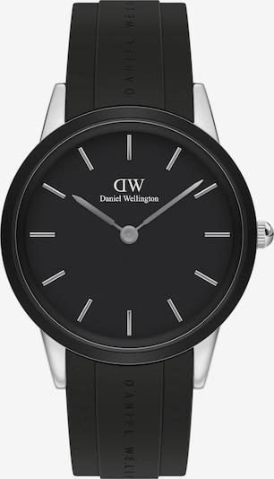 Daniel Wellington Uhr in schwarz / silber, Produktansicht