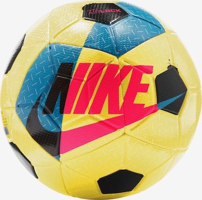 NIKE Ball in cyanblau / gelb / neonrot / schwarz, Produktansicht