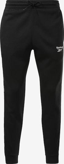 REEBOK Leggings in schwarz / weiß, Produktansicht