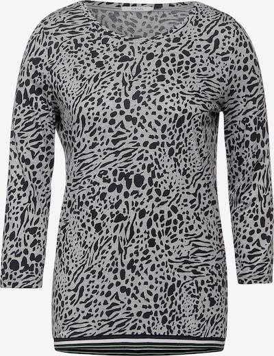 CECIL Shirt in grau / schwarz, Produktansicht