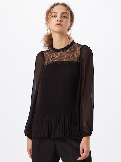 Dorothy Perkins Блуза 'Yoke' в черно, Преглед на модела