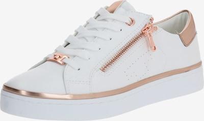 TOM TAILOR Sneaker in rosegold / weiß, Produktansicht