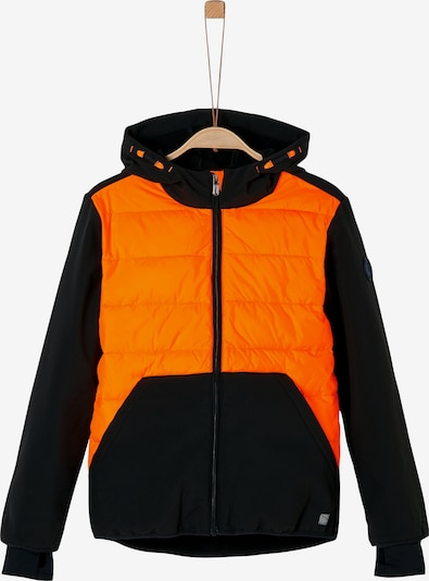 s.Oliver Steppjacke in orange / schwarz, Produktansicht