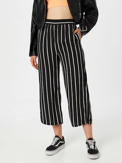 ZABAIONE Hose 'Crystal' in schwarz / weiß, Modelansicht