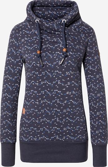 Ragwear Sweatshirt 'NESKA' in navy / opal / himmelblau / weiß, Produktansicht