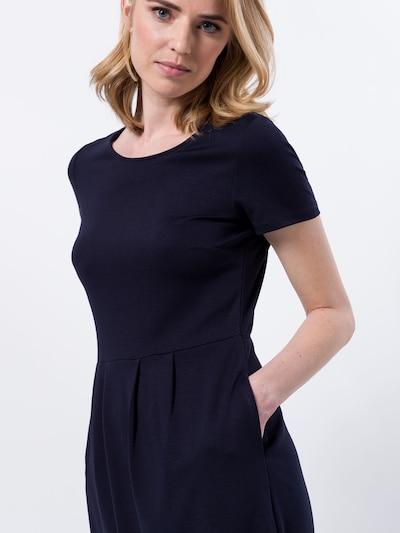 zero Jerseykleid in navy, Produktansicht