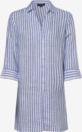 Franco Callegari Bluse in himmelblau / weiß, Produktansicht