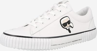 Karl Lagerfeld Niske tenisice 'KAMPUS' u bež / crna / bijela, Pregled proizvoda