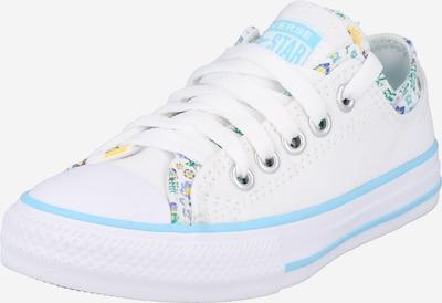 CONVERSE Sneaker in gelb / mint / violettblau / weiß, Produktansicht