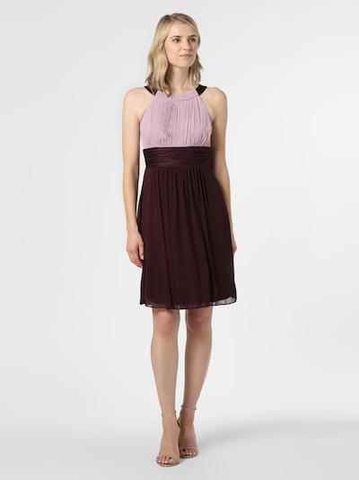 Marie Lund Kleid in braun / aubergine, Modelansicht