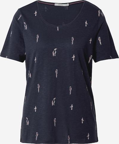 CECIL T-Shirt in dunkelblau / rosa / weiß, Produktansicht