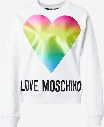 Love Moschino Sweatshirt i blandingsfarvet / sort / hvid, Produktvisning