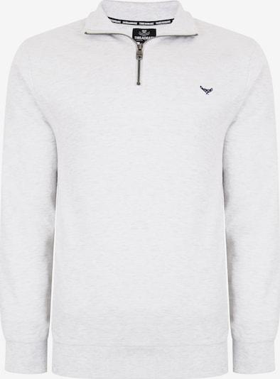 Threadbare Sweat-shirt 'Patrick' en noir / blanc, Vue avec produit