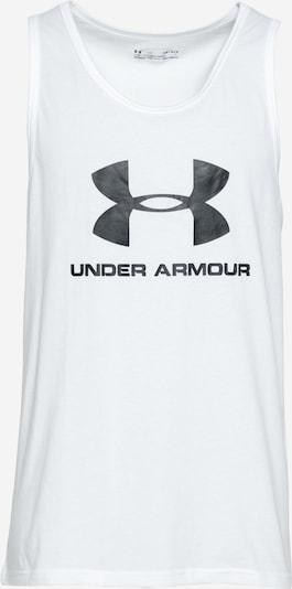 UNDER ARMOUR Funkčné tričko - čierna / biela, Produkt