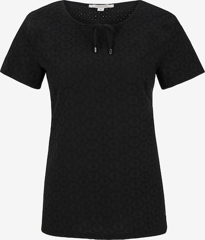 Ci comma casual identity Bluse in schwarz: Frontalansicht